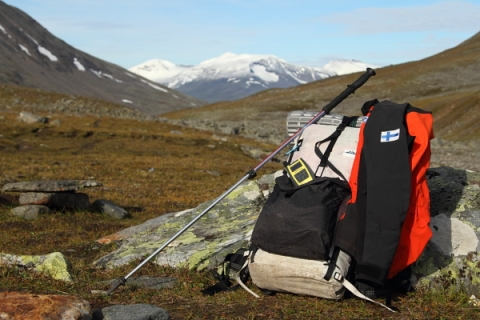 The YB v3 in Sarek National Park in September 2012.
