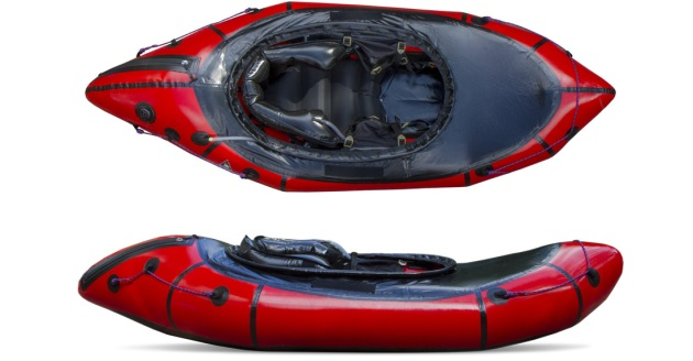 Alpackaraft white water packraft. Photo stolen from the promotional website.